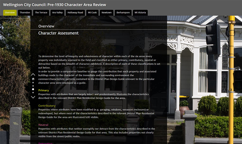 Pre-1930s Character Area Review