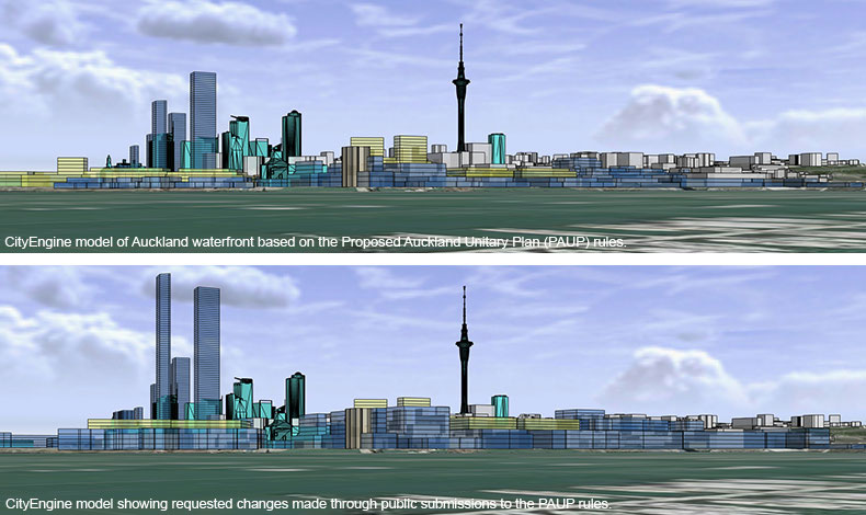 Auckland Waterfront CityEngine Planning Tool | Projects