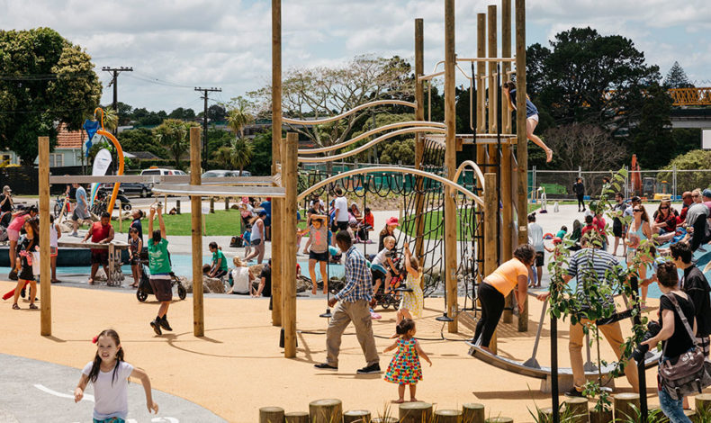 Waterview Reserve Playground